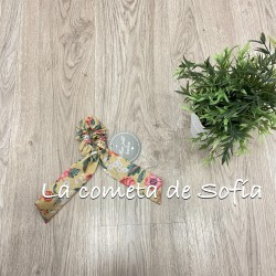 Coletero estampado flores Mon Petit Bonbon