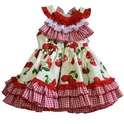 Vestido guindas
